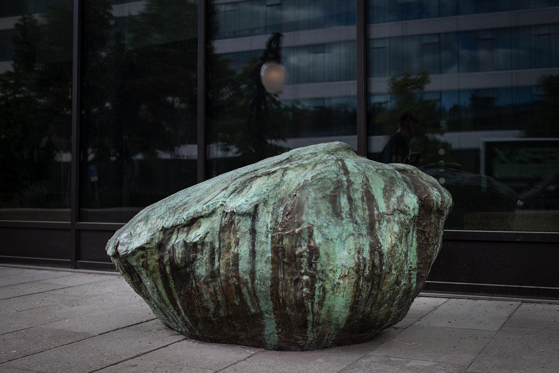 Bild på en gjuten Sten