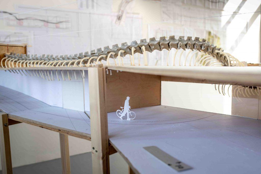 Rainbow Snake av Huang Yong Ping är idéförslaget som vunnit tävlingen att gestalta den nya stationen Haga i Göteborg