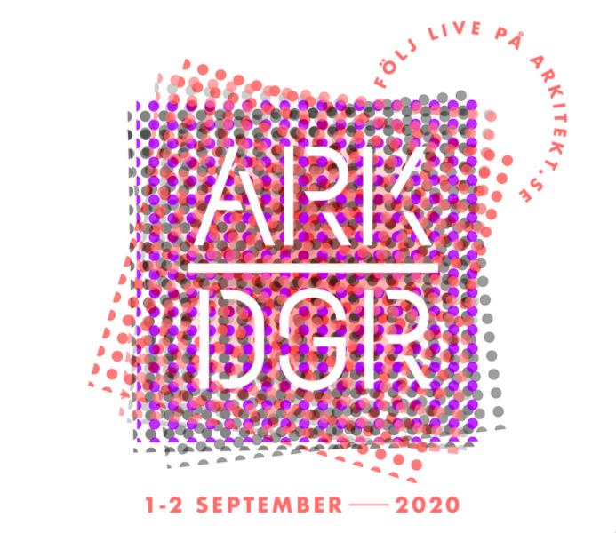 Logotyp för Arkitekturdagarna i Malmö 2020.